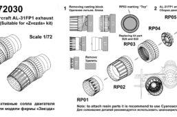AMG 72030 Instr AL31FP